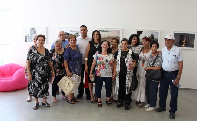 תערוכת 'מראה מקום'- משקפיים ורודים- אוגוסט 2017